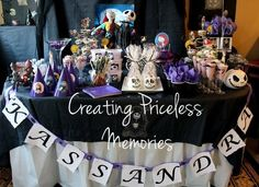 73 best Nightmare Before Christmas Birthday Party Planning For My ...