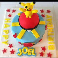 Pikachu Cake! By @Michelle Villanueva