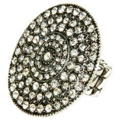 Kimora Ring in Antique Silver