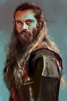 Rollo - Vikings by on DeviantArt Fantasy Portraits, Character Portraits, Character Art, Age Of Empires, Medieval World, Medieval Fantasy, Fantasy Male, Dark Fantasy, Sketch Inspiration