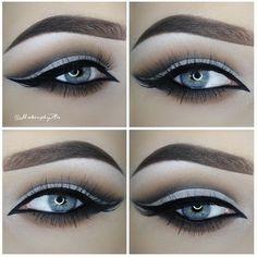 An Knook @makeupbyan makeup look. Lashes are #ESQIDO Lashmopolitan.