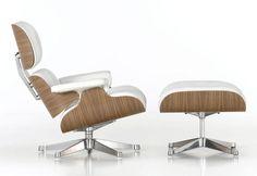 Vitra Lounge Chair & Ottoman Geupdate door Hella Jongerius