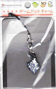 Pokemon Center 2012 Game Dot Charm Vanillish Phone Strap