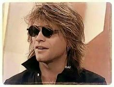 Rare photo of Jon Bon Jovi from early 90's