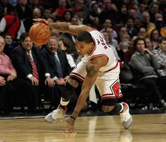 Derrick Rose Photo - Indiana Pacers v Chicago Bulls