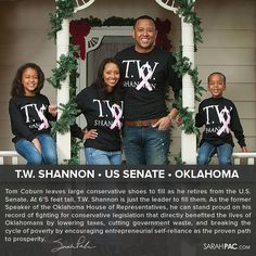 Sarah Palin Endorses T. W. Shannon For Tom Coburn's Oklahoma Senate Seat: Shannon 'More of What's Needed'