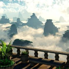 Zhangjiajie National Park, China    ::        It is China's first national forest park. Amazing peaks and beautiful rocks formations are concentrated in 6 main scenic spots and over 90 smaller ones.One of most beautiful nature areas in China.