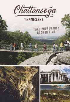 History Buffs: Here Few places in the country can claim such a rich concentration of historical events. Few places in the country have as much history as Chattanooga, Tennessee. Bring the whole family to uncover the past. Vacation Places, Vacation Destinations, Vacation Trips, Dream Vacations, Vacation Spots, Day Trips, Places To Travel, Vacation Ideas, Family Vacations