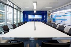Liquid Telecom Offices - New Street Square - Office Design & Fit-Out - Workplace Fit-Out