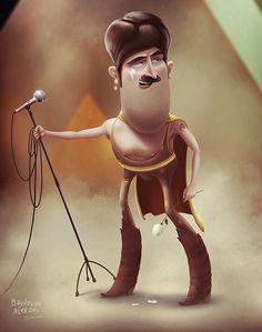 25 Creative Digital Illustrations and Digital Character designs by Aleksey Baydakov   Read full article: http://webneel.com/digital-illustration   more http://webneel.com/digital-artworks   Follow us www.pinterest.com/webneel