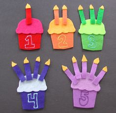 Counting Cupcakes! | Flannel Board Fun
