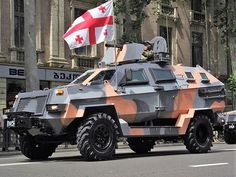 The Didgori-II (Georgian: დიდგორი-II) is an armoured multi-role and special operations vehicle produced by STC DELTA. It was developed in 2009 alongside the Didgori-1 using the same internal features with some additional functions. The armoured personnel carrier is thought to provide transport, enhanced visibility and firepower support for infantry troops and SF in various missions including reconnaissance and convoy protection.