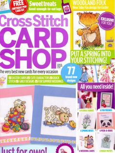 Cross Stitch Card Shop Issue 89 March/April 2013 Saved