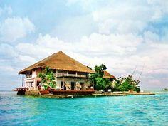 isla rosa, mar caribe, colombia