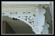Posts about victorian gingerbread brackets written by Victorian Homes, Victorian, Carport Plans, Diy Porch, Moldings And Trim, Diy Woodworking, Victorian Cottage, Porch Brackets, Victorian Porch