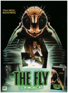 The Fly (1986) movie poster (Spain)