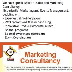 #visioninvestments Marketing Solution center #events #promotions #corporateevent