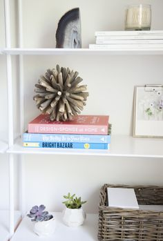Shelf Styling| Camille Styles Studio / Office Space, photo by Jessica Pages