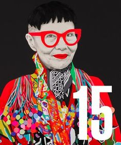 carlafletcher.com 'Jenny Kee' by Carla Fletcher Cover 2015 Archibald Prize Catalogue