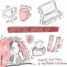 Winter cold and flu by Scarlet_alterego for of red and other colors https://ofredandothercolors.wordpress.com/ Character design, webcomic, cartoon, girl character, self, diary comic strip, cartoon, funny, illustration, ofredandothercolors, scarlet_alterego, of red and other colors, cold, flu, nook, coffee