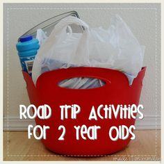 Road Trip Activities - perfect for your travel to Walt Disney World or Disneyland!