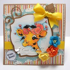 Little Miss Giraffe - Pencil colouring.