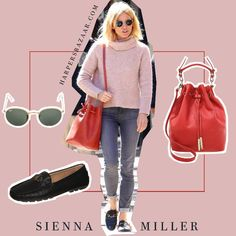 Sienna Miller - Red is for by AMAZE Celebrities