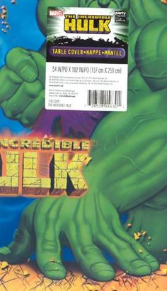 The Incredible Hulk Table Cover