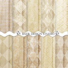 Digital Paper Wood, Digital Paper Chrismas, Digital Paper Gold, Rustic Wedding Digital Paper,  Wood and Harlequin Digital Paper, #15124B by BaerDesignStudio on Etsy