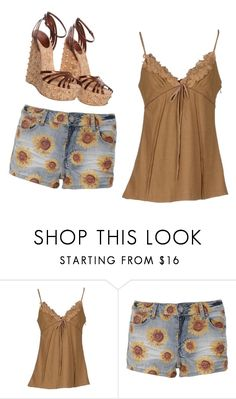 """""""Untitled #3247"""" by ania18018970 ❤ liked on Polyvore featuring SCERVINO STREET and Gucci"""
