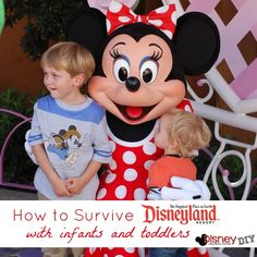 How to Survive Disneyland with Infants and Toddlers--  Cant wait for Ella to see Mickey and Minnie!!!!