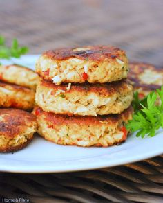 Classic Old Bay Crab Cakes. Classic Old Bay Crab Cakes with Roasted Red Peppers Crab Cakes Recipe Best, Crab Cake Recipes, Salmon Recipes, Fish Recipes, Meat Recipes, Seafood Recipes, Cooking Recipes, Old Bay Crab Cake Mix Recipe, Recipies