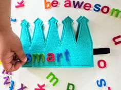 Kids Crown Toddler Prek Kdg Phonics Make Your Own Word Reusable Letters Activity Educational Game