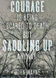 Courage John Wayne quote
