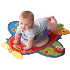 so cool for tummy time!