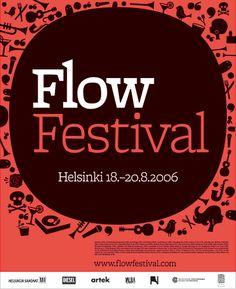 Juuso Koponen: Flow Festival 2006 identity