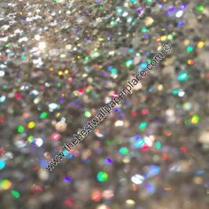 Glitter Wallpaper - Shades of Silver Black - Silver Holographic - SSB1