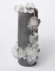 Lukas Wegwerth | Crystallization 64 | 2015, Ceramic, Crystals | Unique | Germany