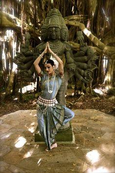 Odissi Dance - Kauai Shiva Temple, Hawaii
