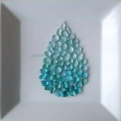inc keygen Sea Glass Crafts, Sea Crafts, Sea Glass Art, Sea Glass Jewelry, Mosaic Glass, Fused Glass, Diy And Crafts, Stone Crafts, Rock Crafts