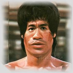 Bruce Lee Caricature Watch this***