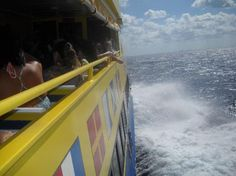 Ferry to Cozumel from Playa del Carmen, Mexico