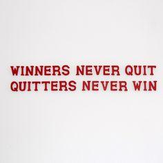 Winners ...