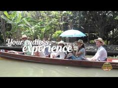 Floating Market Food Tour|Experience Thai's local food & traditional market