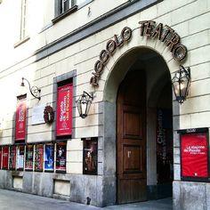 O Piccolo Teatro de Milano foi fundado logo a apos a segunda guerra em 1947 - Instagram by estounaitalia