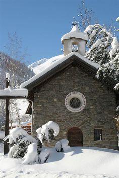 Valloire, village station, en hiver Les Montagnes de Sherpa: La station de Valloire