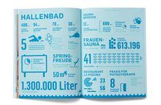 HALLENBAD ISMANING / Erscheinungsbild und Eröffnungskampagne / #Corporate #Design #Geschäftsausstattung / by Zeichen & Wunder, München Cl Design, Corporate Design, Page Online, Bullet Journal, Branding, Layout, Projects, Inspiration, Designs