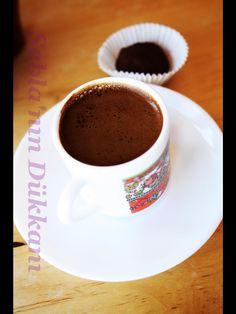 Turkish coffee and truff