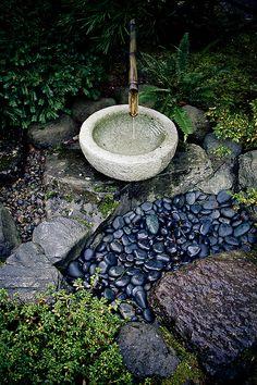 Garden Fountain by Viet Hoang, via 500px