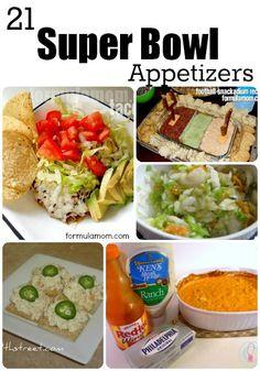 21 Super Bowl Appetizers Recipes #superbowl #SB47